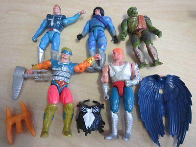 5 Masters of the Universe He-Man Actionfiguren New Adventures 1989 90er Jahre