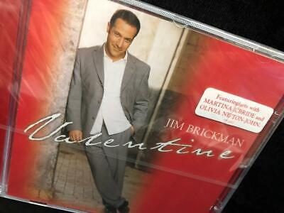 Jim Brickman CD Martina McBride Olivia Newton-John Valentine SEALED 15 Tracks Jim Brickman Martina Mcbride