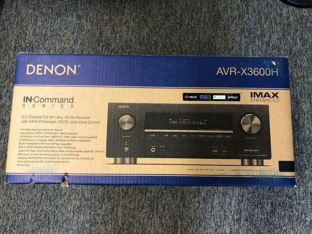 avr x3600h 9 2ch 4k av receiver