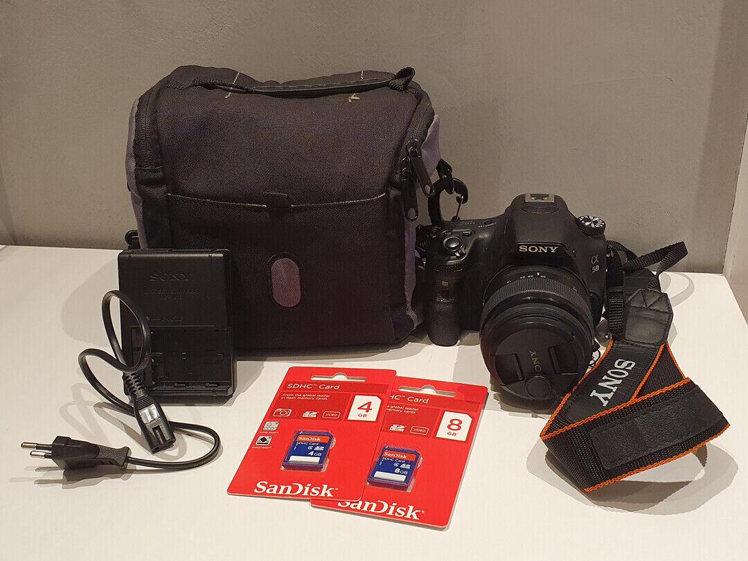 Sony Alpha 58 DSLR Spiegelreflex Kamera mit Kit-Objektiv 20,1 MP