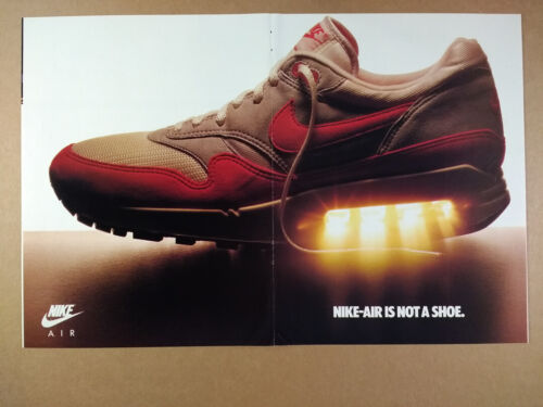 1987 Nike Air Max Trainer Safari Force Shoes vintage print Ad