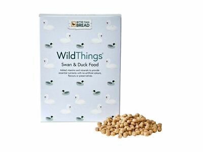Wild Things Swan & Duck Food 175g Wildlife Floating Tasty Treats