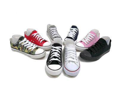 New Womens Sport Shoes Low Top Canvas Sneakers All Star Size Classic Multi Color