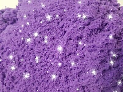 Sparkling Purple 2 LB Refill Space/ Moon / Magic / Kinetic Play Sand Mold-N-Play