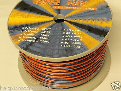 250 Feet 12 Gauge AWG Indoor Outdoor UV Speaker Wire OFC Cable # 25 50 100 for sale  Shipping to India