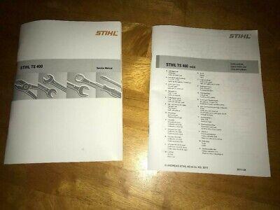 Ts 400 Ts400 Stihl Cut Off Saw Workshop Service Illustrated Parts List Manual