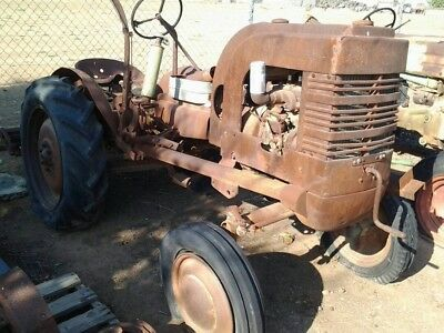 Vintage 1940 John Deere L Model With Culivator Extra Engine And Parts