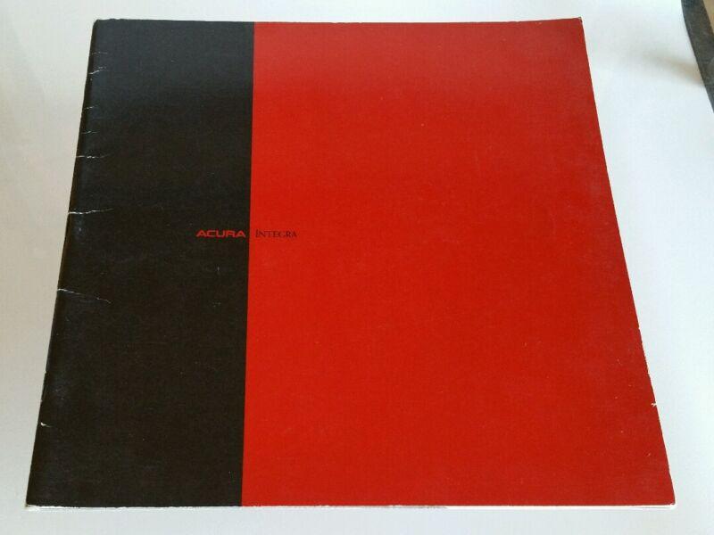 1990 Acura Integra Catalog Brochure