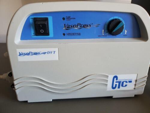 CTC Vasopress DVT VP500 Compression Therapy Pump Air Massage Machine