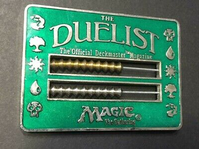 DUELIST MTG Magic The Gathering Life Counter Green Abacus Card Game 1996