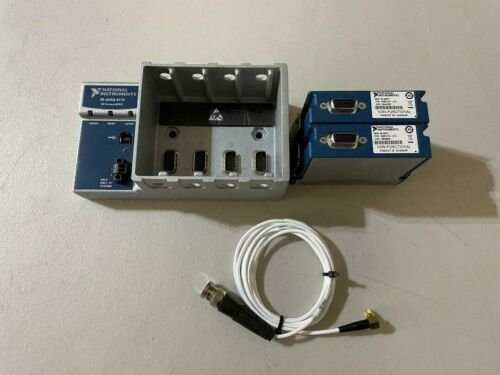 National Instruments NI cDAQ-9174 USB CompactDAQ Chassis with (2) NI 9977