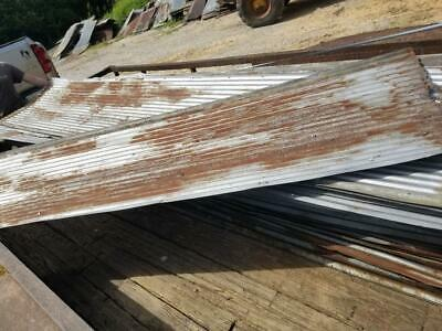 3pc.1 Sq.ft. Samples Reclaimed Corrugated Metal Roofing Tinlarger Available