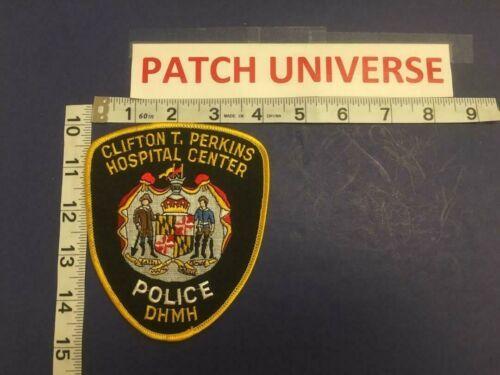 CLIFTON T PERKINS HOSPITAL CENTER  MD POLICE  SHOULDER PATCH     E053