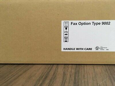 Ricoh Type 9002 Fax Option For Mp 6002 7502 9002 New In Box