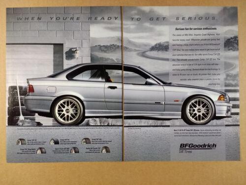 1997 BMW M3 Coupe photo BFGoodrich Tires vintage print Ad
