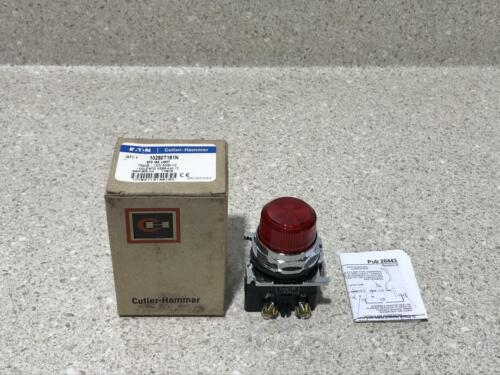 Eaton Cutler-Hammer Standard Ind. Light (RED) 10250T181N NEW