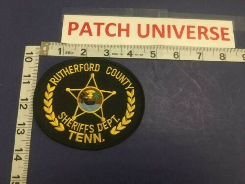 RUTHERFORD COUNTY TENN  POLICE  SHOULDER PATCH     E013
