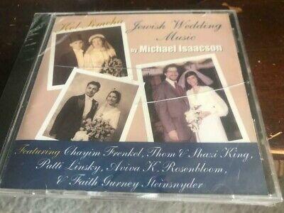 Kol Simcha Jewish Wedding Music of Michael Isaacson cd SEALED Eggcream