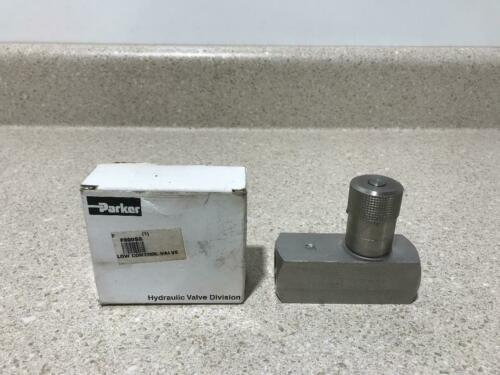 Parker Low Control Valve F800SS NEW