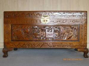 Large Camphor Chest & Lock Ballarat Central Ballarat City Preview