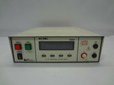 Associated Research Hypot Ii 3560d Digital Acdc Voltage Tester