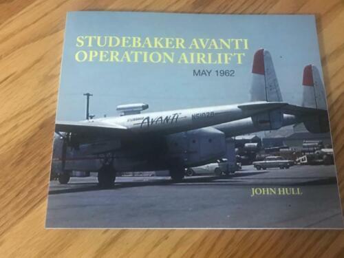 Studebaker Avanti Operation Airlift May 1962 - New Book