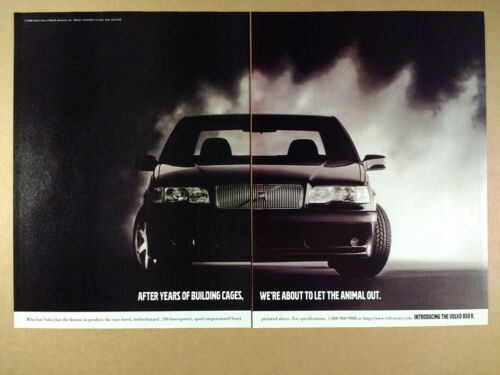 1996 Volvo 850 R vintage print Ad