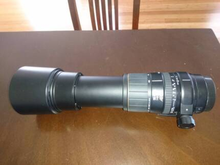 Canon Sigma lends 4,5 135mm-400mm and filter kits