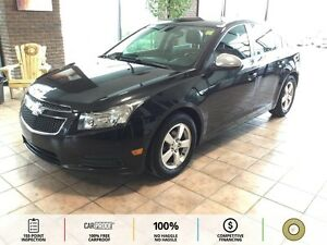 2013 Chevrolet Cruze LT Turbo 2 TONED INT! LEATHER! HTD SEATS...
