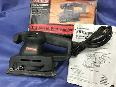 Craftsman 13 Sheet Double Insulated Corded Electric Sander 315.116310