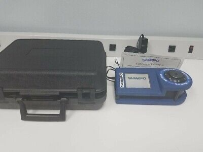 Shimpo Digital Torque Wrench Tester Tct-i-025 25 In Lb With Case