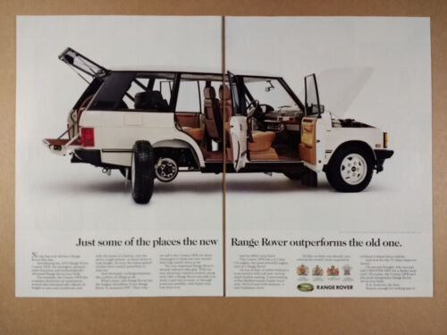 1993 Range Rover County LWB vintage print Ad