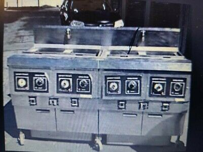 Henny Penny Fryer Gas Used Works Great Model Ofg-322 4 Well System