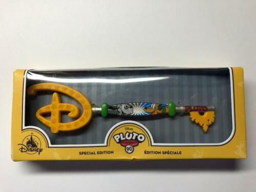 Pluto 90th Anniversary Collectible Disney Key New in Box