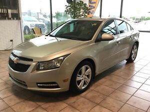 2014 Chevrolet Cruze DIESEL TAN LEATHER SEATS! BLUETOOTH! SUN...