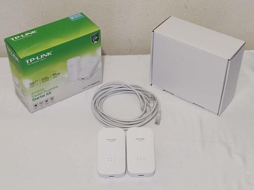 TP-LINK TLPA8010KIT AV1200 Powerline Ethernet Adapter