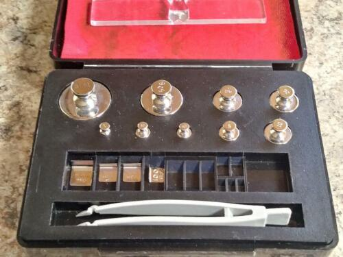Troemer Class 1 Calibration Weights with Case 100mg - 100g