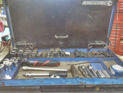 Kinchrome Tool Chest with Sidchrome/T&E/Teng/SP Tools,etc Loganholme Logan Area Preview