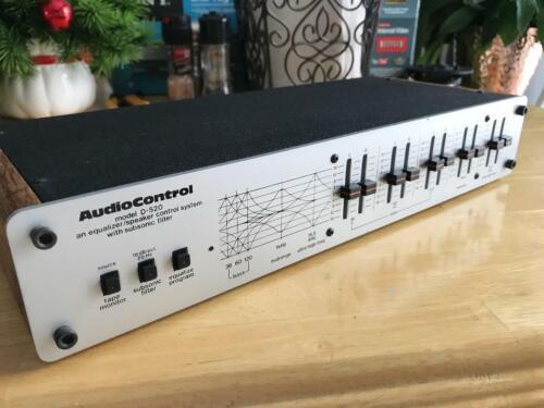 AudioControl D-520 Equalizer