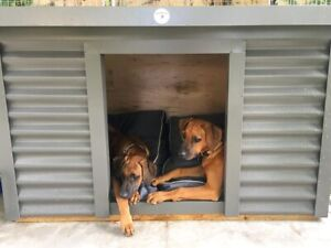 KUSTOM DOG KENNELS, INDOOR/OUTDOOR, INSULATED, SMALL, MEDIUM, LARGE XL Monbulk Yarra Ranges Preview