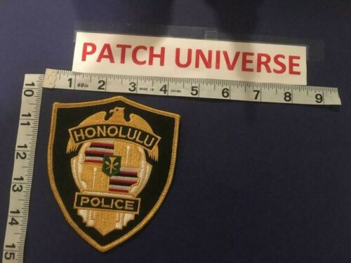HONOLULU HAWAII  POLICE SHOULDER PATCH       D093