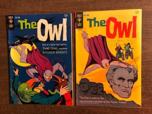 The Owl #1 & #2 Gold Key TV Comic 1967