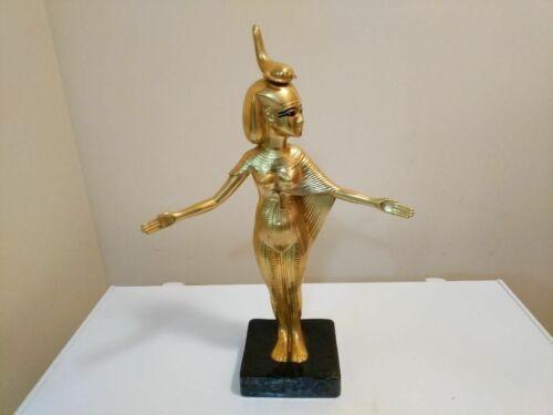 Rare Boehm Porcelain Ltd. Edition Gilded Egyptian Goddess Selket