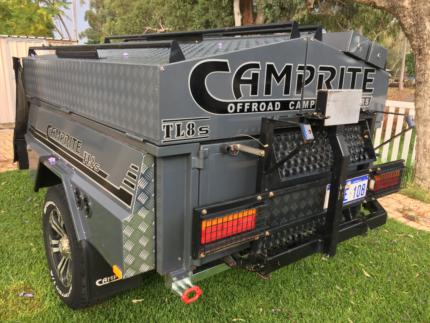 Camprite TL8s Offroad Camper Trailer