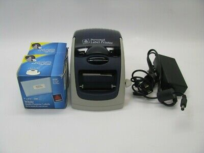 Avery 09100 Personal Label Maker Thermal Printer Bundle *See Notes* for sale  Shipping to India