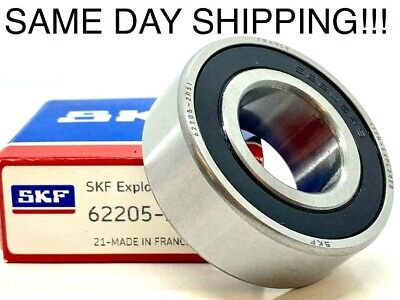 Skf Bearing 62205 2rs1 Size 25x52x18 Same Day Shipping