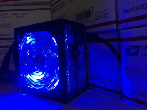 500W 550W 600W 650W 700W 750W 750 WATT PCI-e LED Fan PSU SATA ATX Power Supply