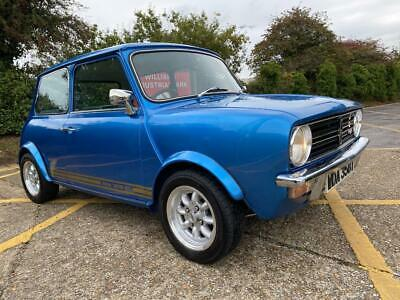 Austin Mini Clubman 1275 GT. Metallic Blue. Many extras and awesome looks. Rare.
