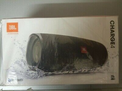 JBL Charge 4 Portable Bluetooth Speaker- Black-Grey-Red-Yell-White- Sealed - NEW