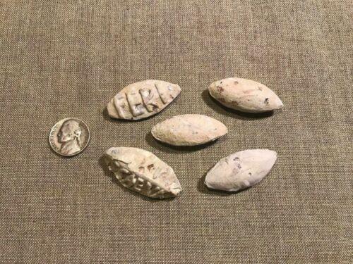 ANCIENT ROMAN LEGIONARIES small lot of GLANS sling bullets